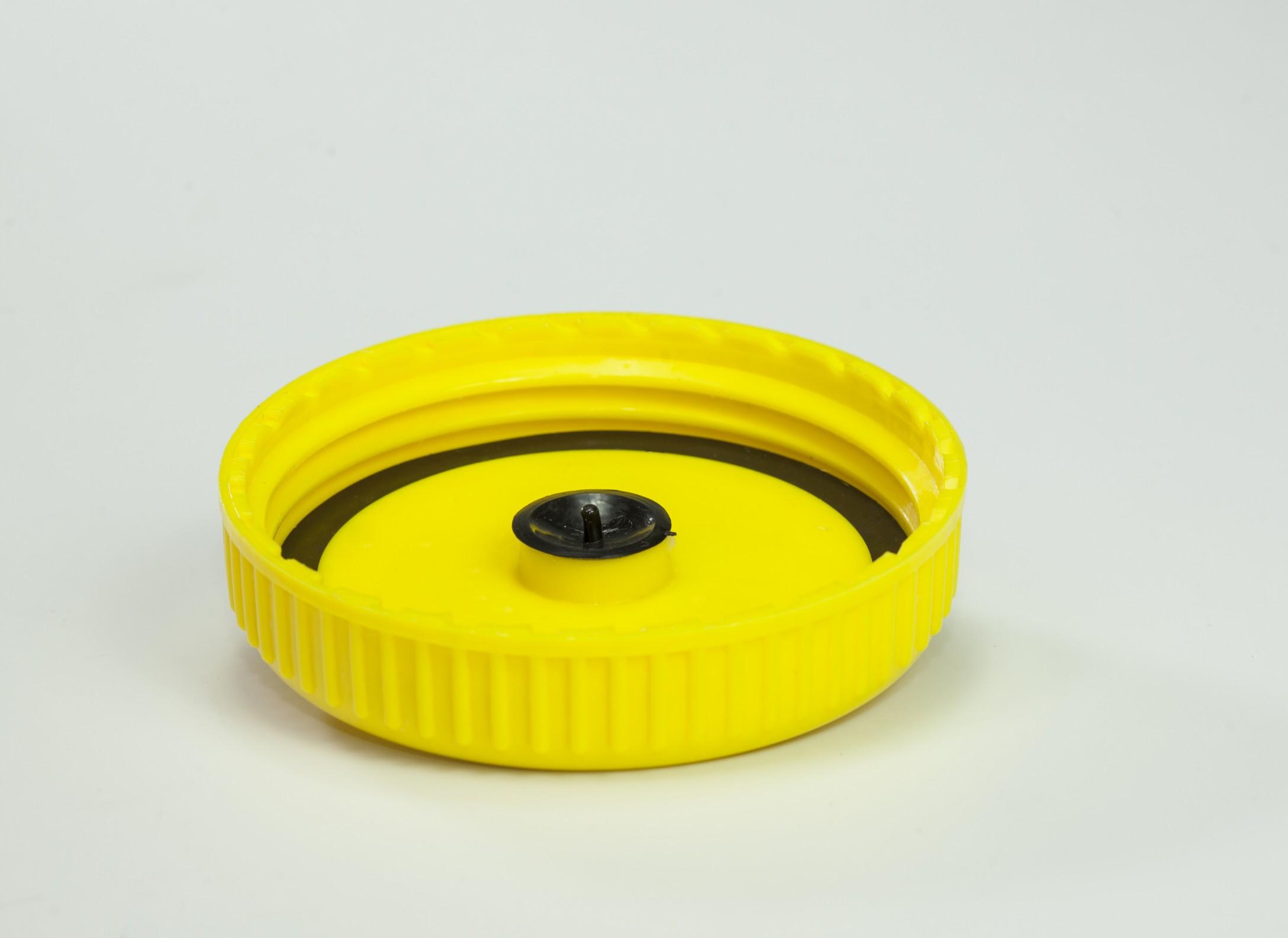 Tapadera para equipo estándar con sello y cheque distribuido por PROTECNO