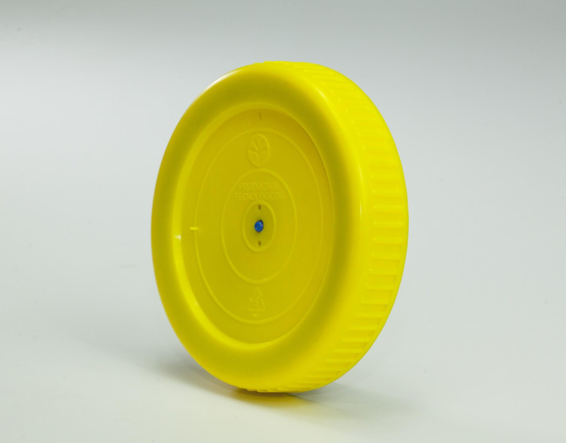 Tapadera para Protecno Plus con sello azul distribuida por PROTECNO